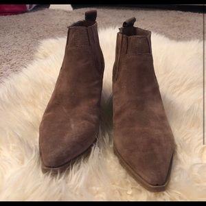 Franco Sarto suede boots
